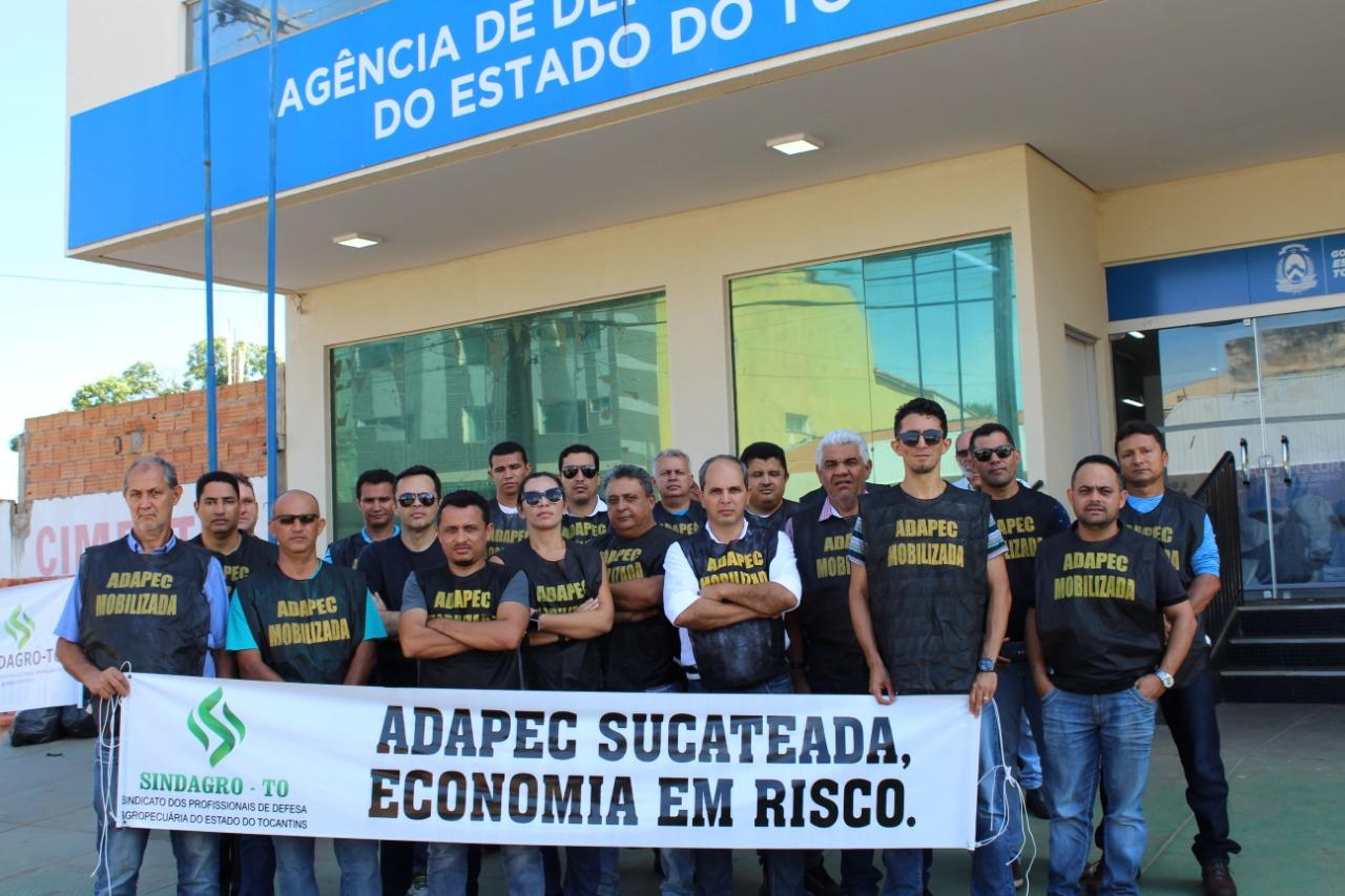 Informações e dados importantes sobre a greve dos profissionais da ADAPEC-TO