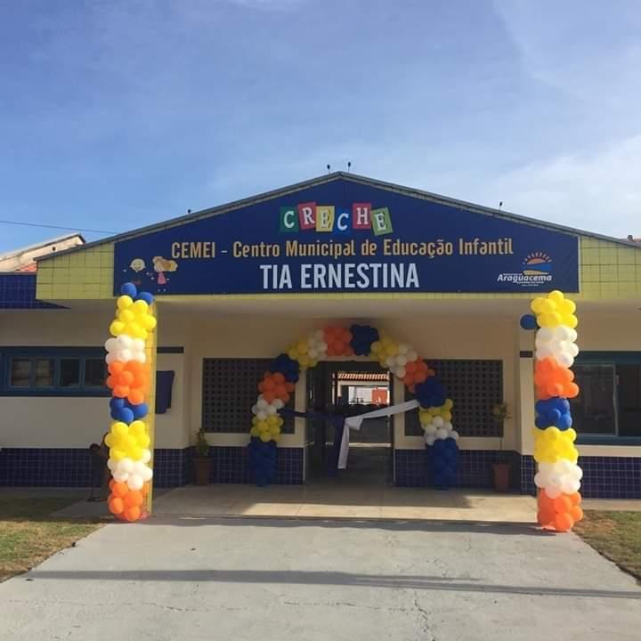 Prefeita Isabella Simas inaugura novo CMEI em Araguacema