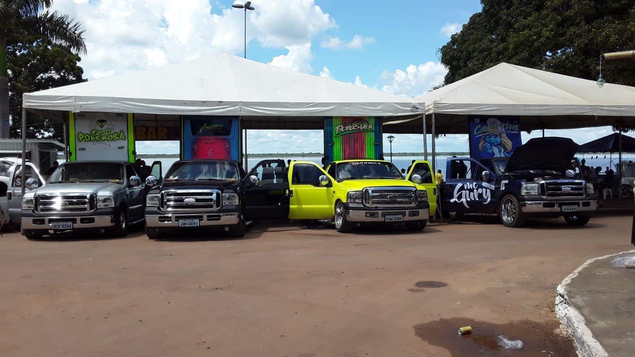 Prefeitura de Lagoa da Confusão apoia encontro de som Automotivo e Rebaixados