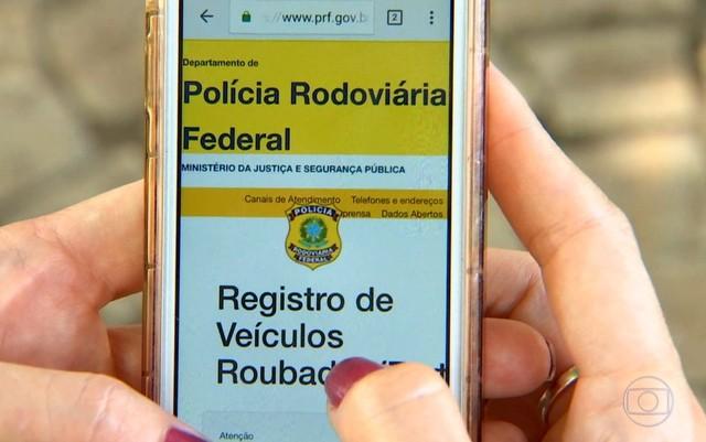 Sistema da PRF ajuda na recuperação de veículos alvos de crime