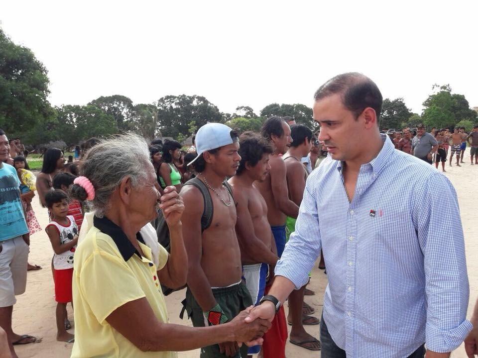 Vicentinho Júnior ressalta emendas destinadas às comunidades indígenas do Tocantins