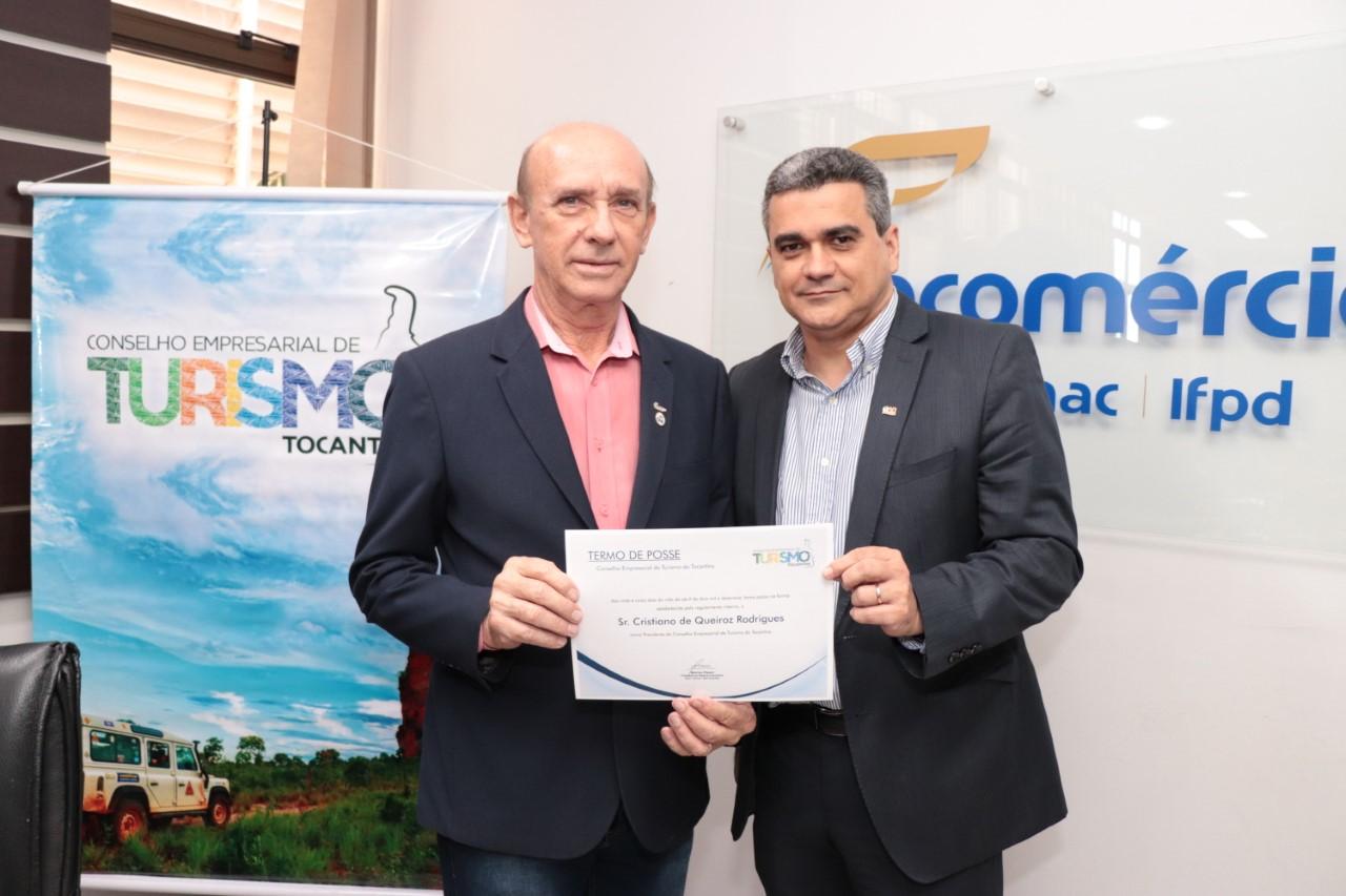 Conselho Empresarial de Turismo da Fecomércio empossa novo presidente