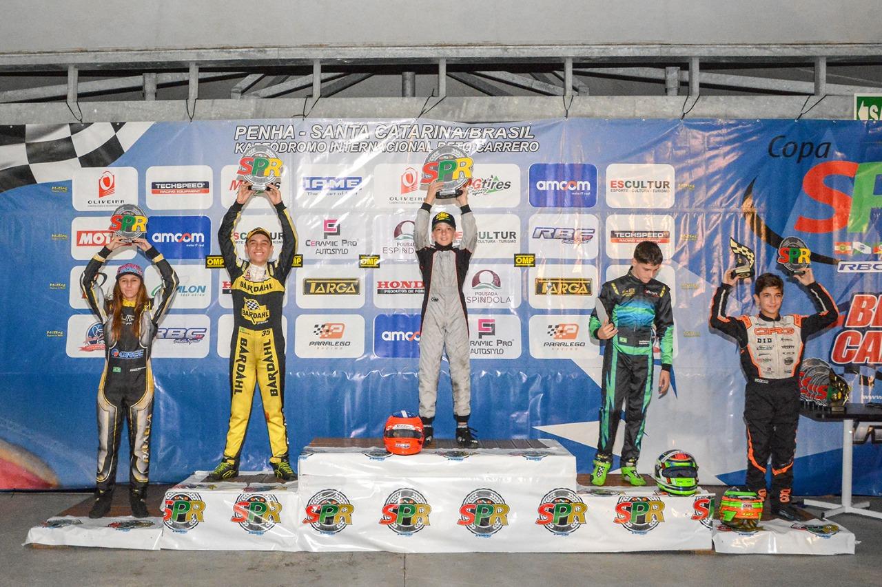 Em dia de superação, Pedro Aizza garante o vice-campeonato na Copa SPR Light de Kart