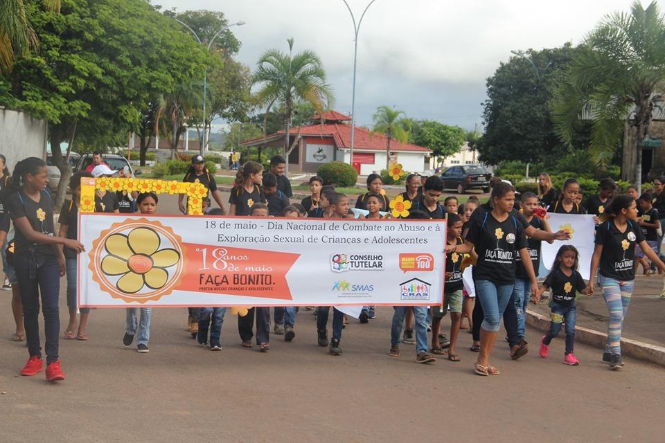 Instituições vinculadas ao Governo de Pium, celebram o dia Nacional em Defesa dos direitos de Crianças e Adolescentes