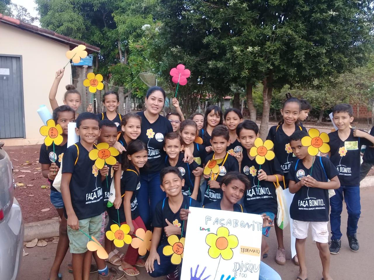Caminhada em Pium mobiliza comunidade contra o abuso e a exploração sexual de crianças e adolescentes