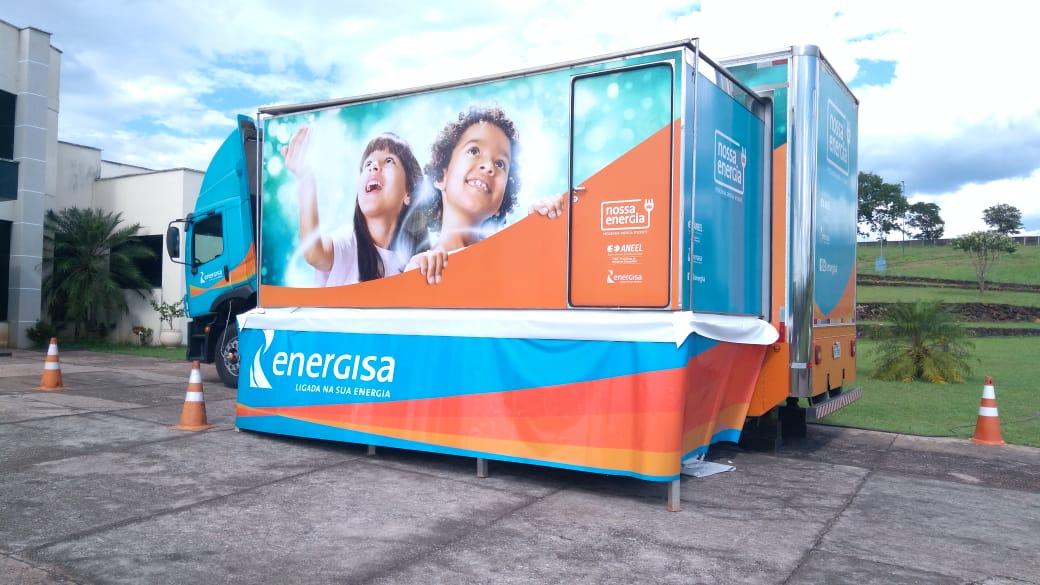 Carreta do projeto 'Nossa Energia' chega a Monte Santo