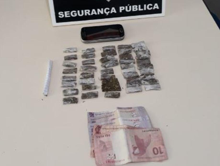 Suspeito de tráfico de drogas é preso pela Polícia Civil em Miracema do Tocantins