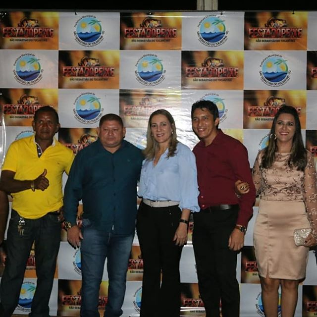 Dulce Miranda prestigia XVI Festa do Peixe em São Sebastião do Tocantins