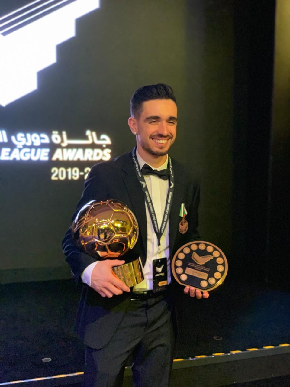 Campeão após 22 anos e melhor estrangeiro nos Emirados Árabes: Igor Coronado celebra 'temporada perfeita'