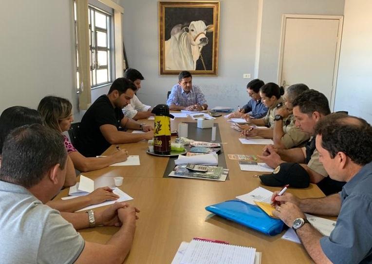 Diretoria do Sindicato Rural de Paraíso reúne com representantes da Polícia Militar, Civil e Conselho Tutelar