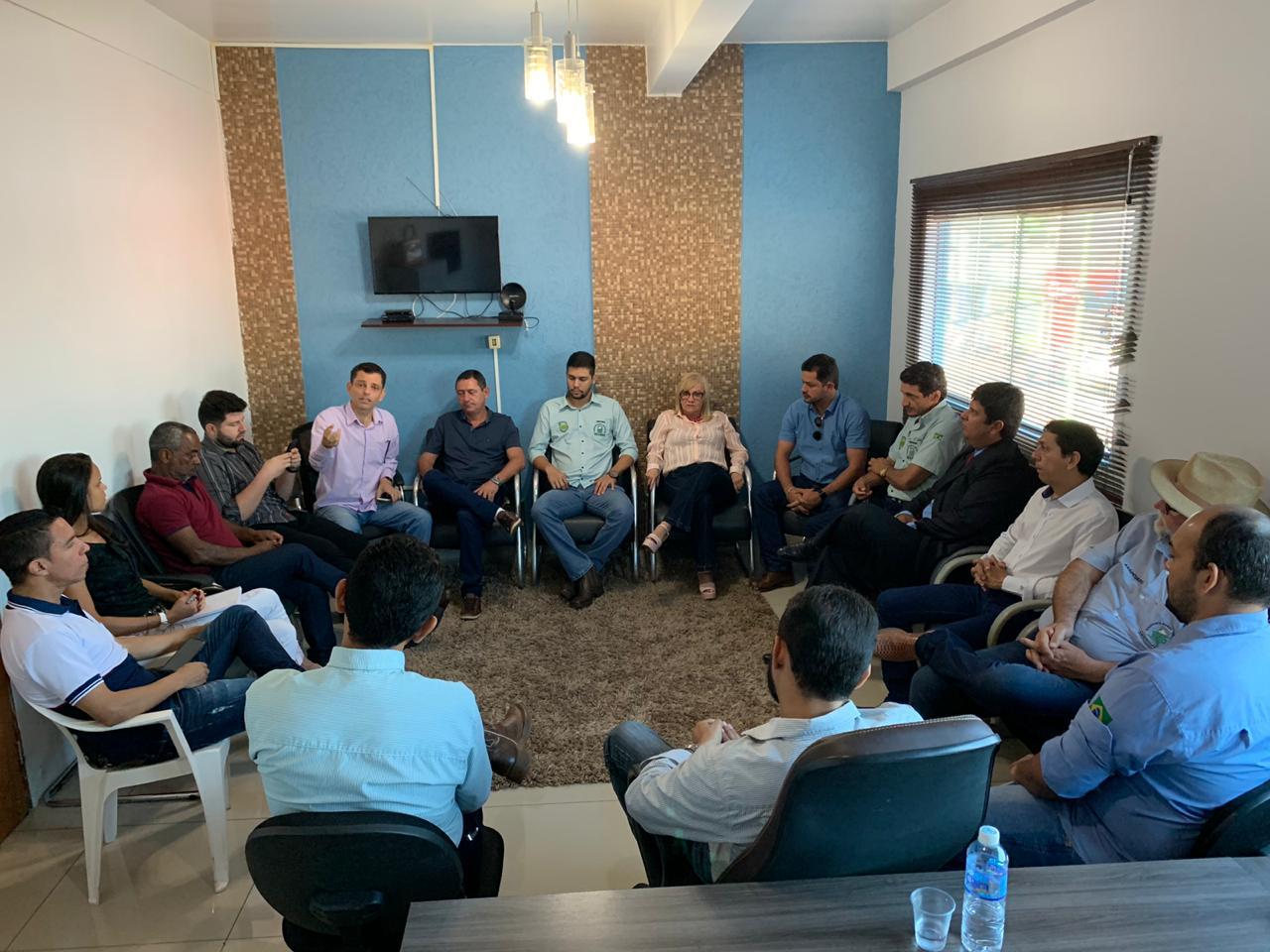 Sindicato Rural de Paraíso e vereadores discutem colaboração para realização da Expobrasil
