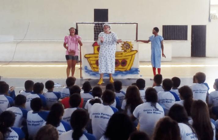 Crianças de Xambioá aprendem a preservar os rios através de proposta da BRK Ambiental