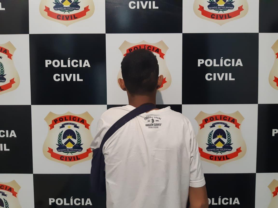 Polícia Civil prende suspeito de praticar assaltos na região sul de Palmas