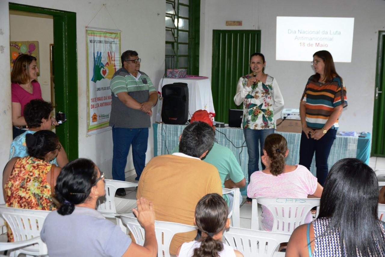 CAPS de Paraíso realiza evento alusivo ao Dia Nacional da Luta Antimanicomial