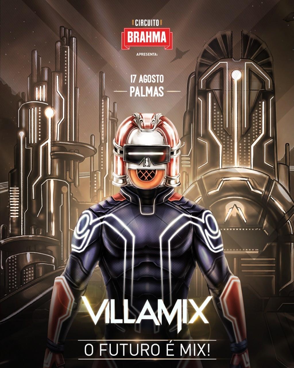 VillaMix Festival desembarca em Palmas no dia 17 de agosto