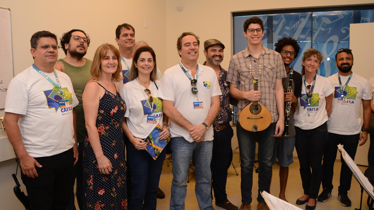 Presidente da Caixa Econômica Federal visita Espaço + Cultura em Palmas