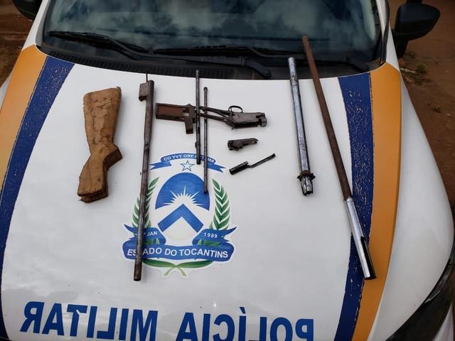 Polícia encontra oficina de manutenção de armas em casa no sul de Palmas