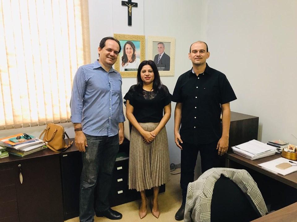 Técnicos do município participam de reunião com superintendente do SENAR Tocantins