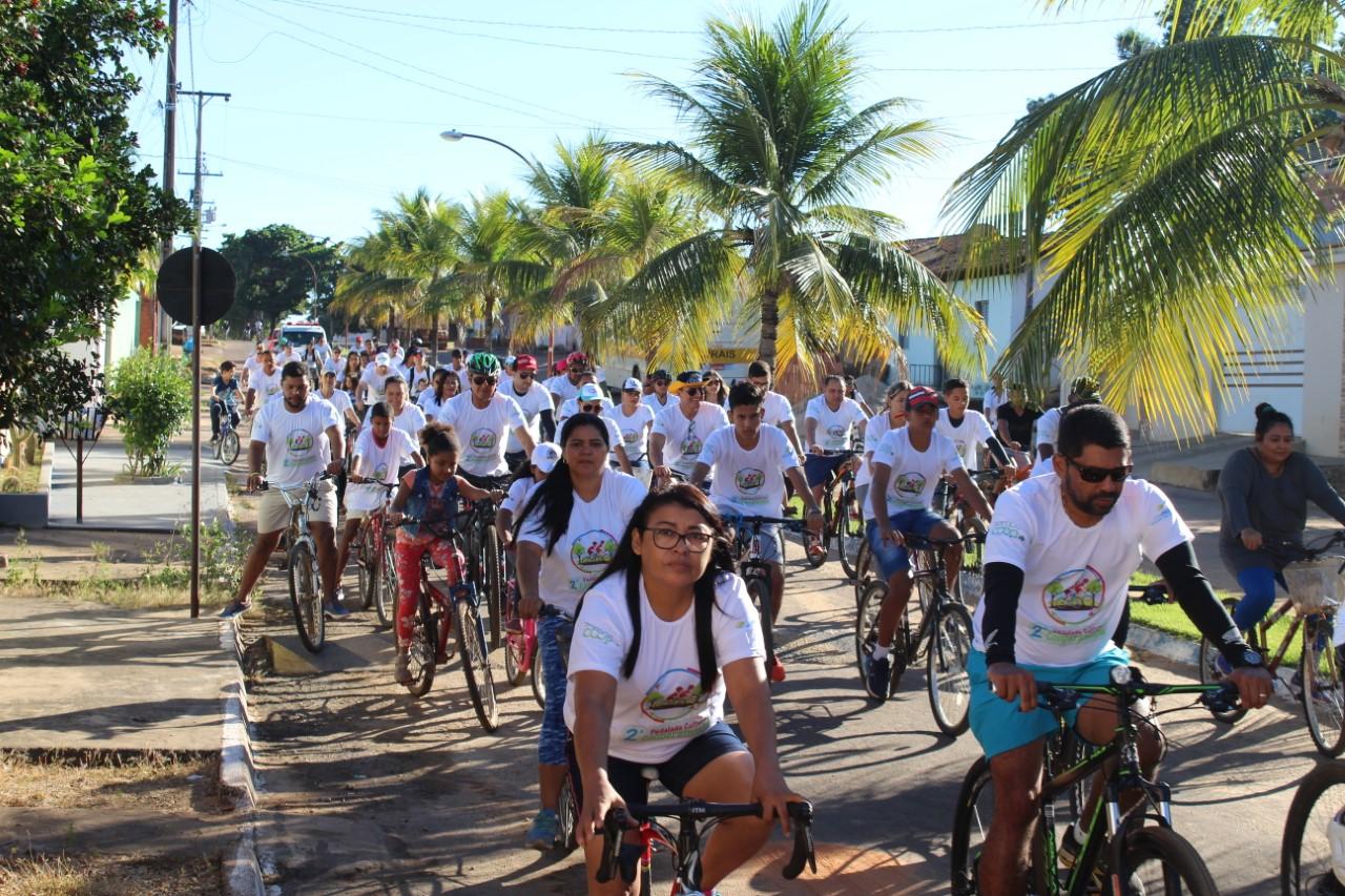 Com a participação de várias famílias, II Pedalada Cultural Cooperativista apresenta a história de Pedro Afonso
