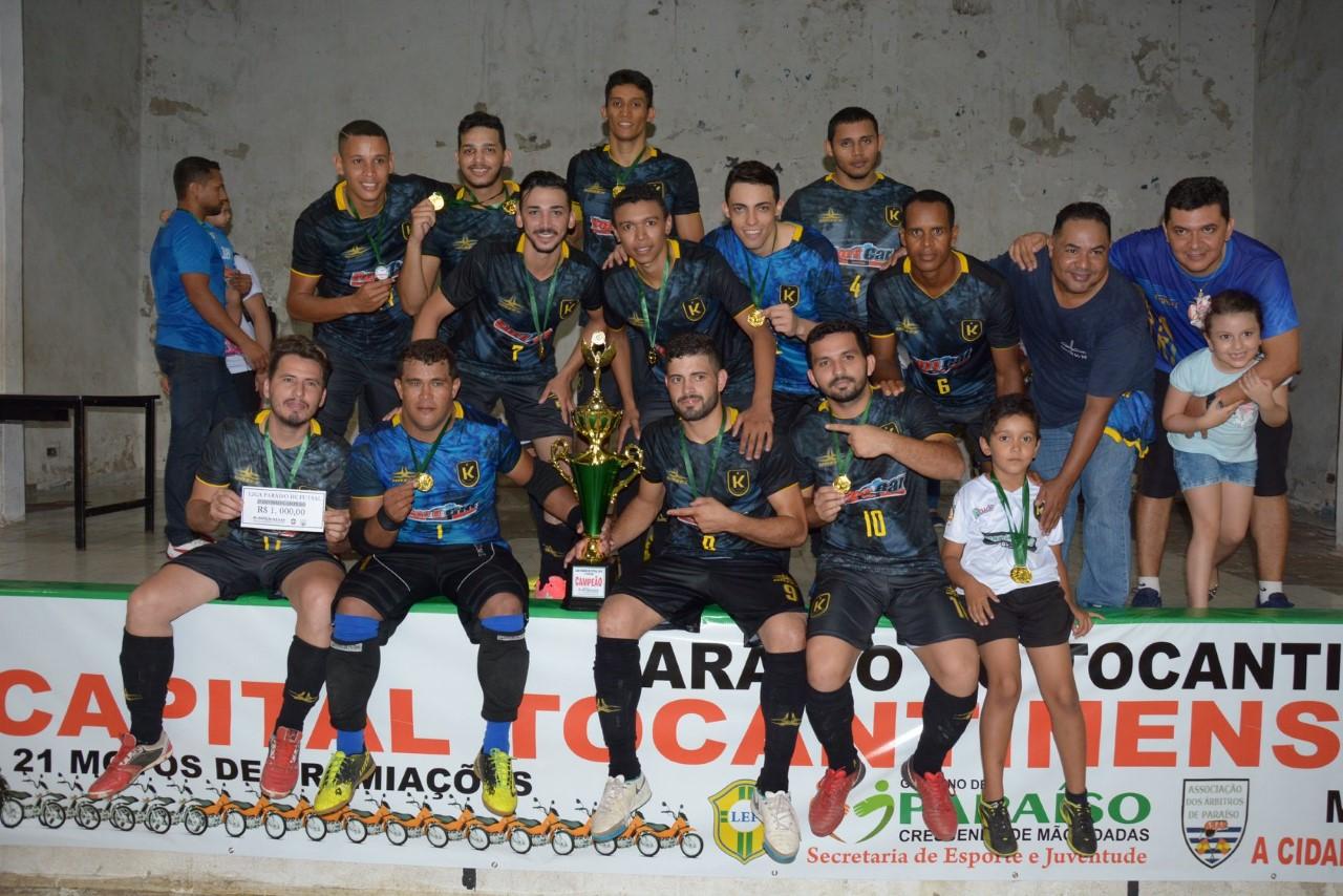 Disputas acirradas marcam finais da Liga Paraíso de Futsal
