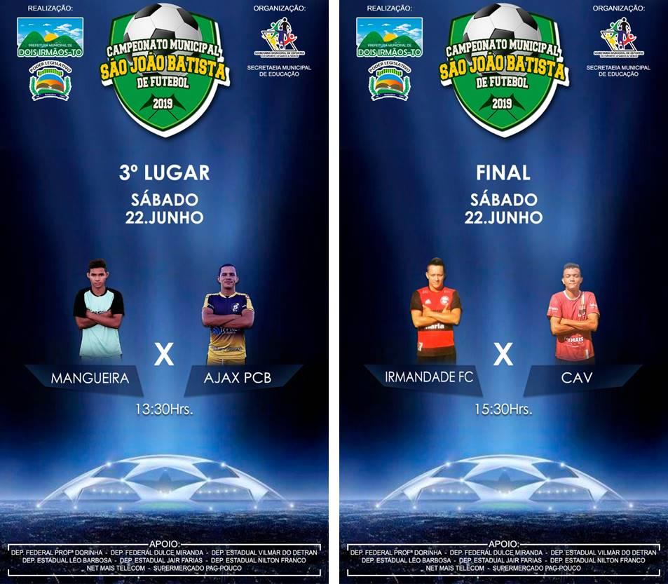 Final do Campeonato São João de Dois Irmãos será disputada no próximo sábado, 22