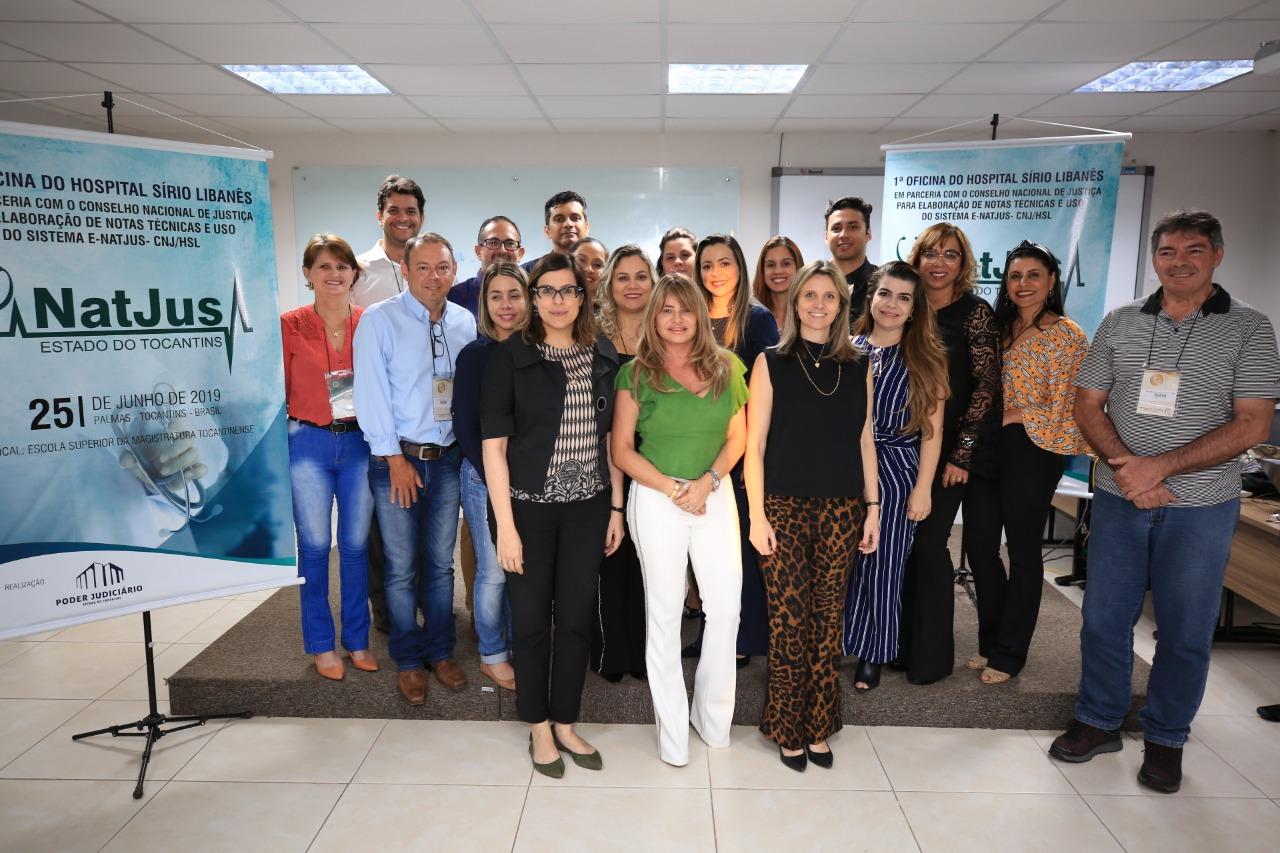 Ao realizar a 1ª das oficinas de ATS no Tocantins, coordenadora do Nats-Hospital Sírio Libanês destaca trabalho do Natjus-TO para racionalizar judicialização na saúde