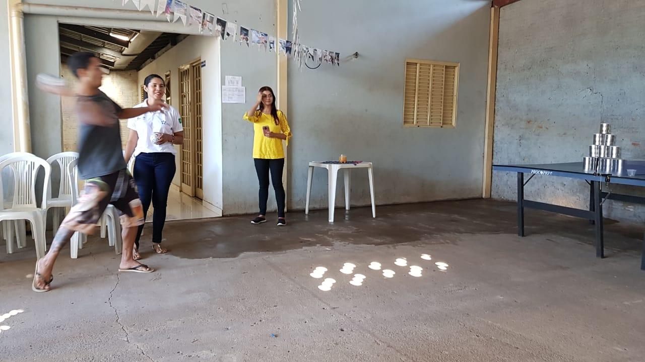 Adolescente cumpridores de medidas socioeducativas de Gurupi participaram de comemoração junina