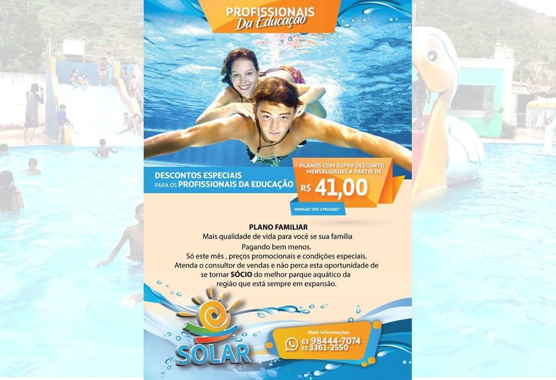 Solar Acqua Park oferece descontos especiais para profissionais da educação