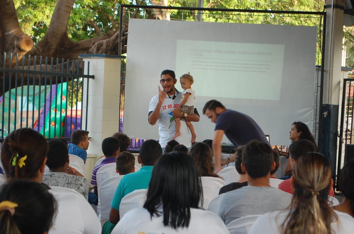 Dia Mundial de Combate ao Trabalho Infantil é lembrado em evento no CRAS de Lagoa da Confusão