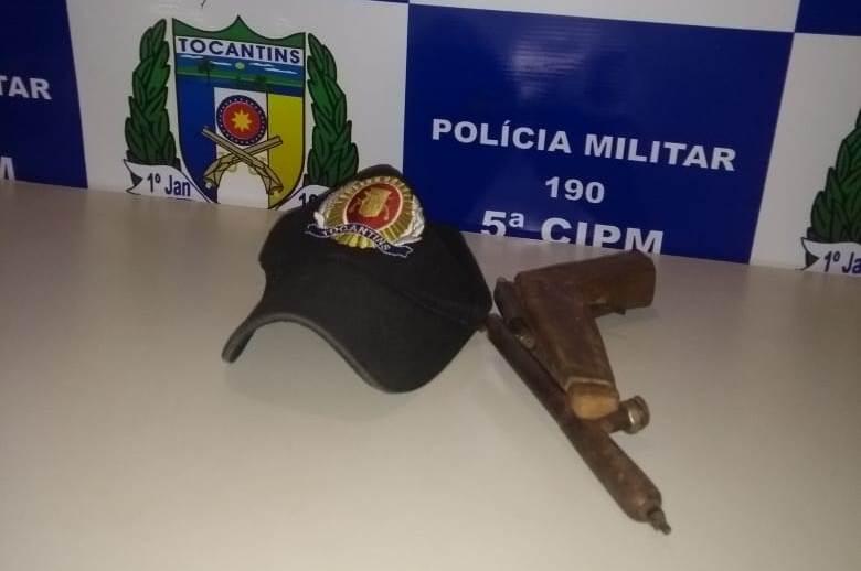 Arma de fogo é retirada de circulação e menor é apreendido por prática infracional em Palmeiras TO