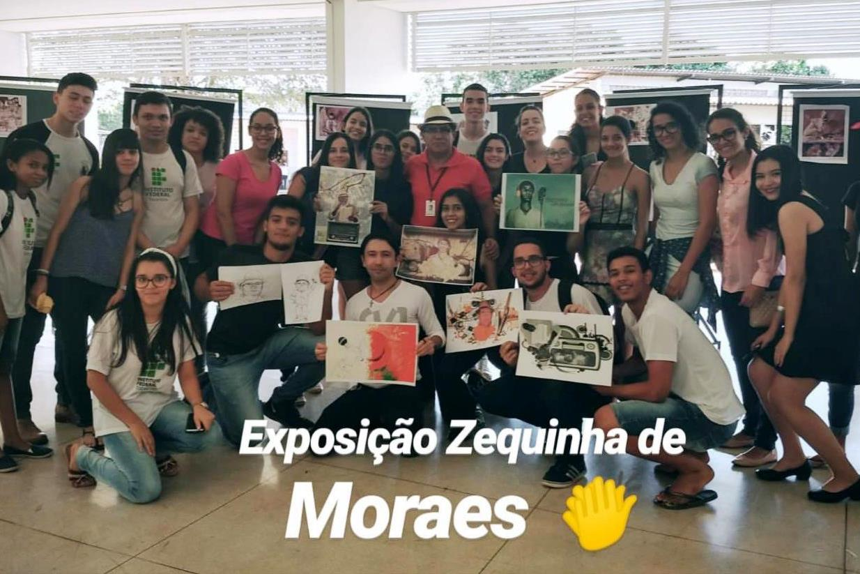 Zequinha de Moraes é homenageado no Festival de Arte e Cultura do IFTO