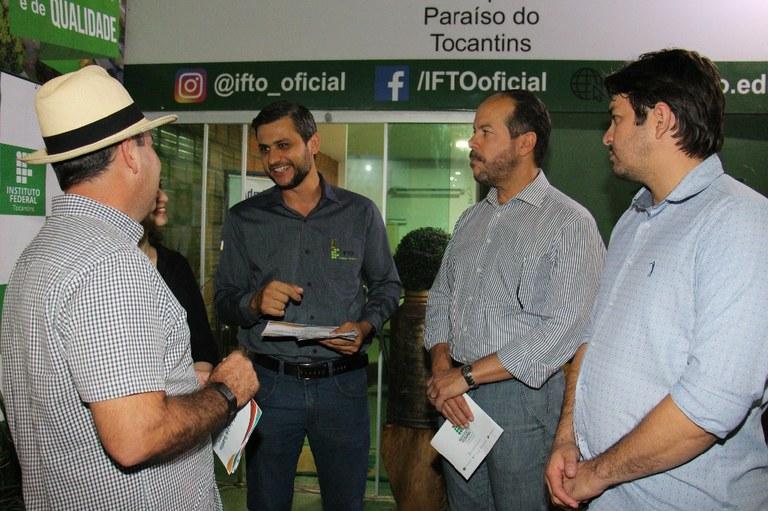 Diversas atividades do Campus Paraíso do Tocantins foram apresentadas aos visitantes da ExpoBrasil 2019