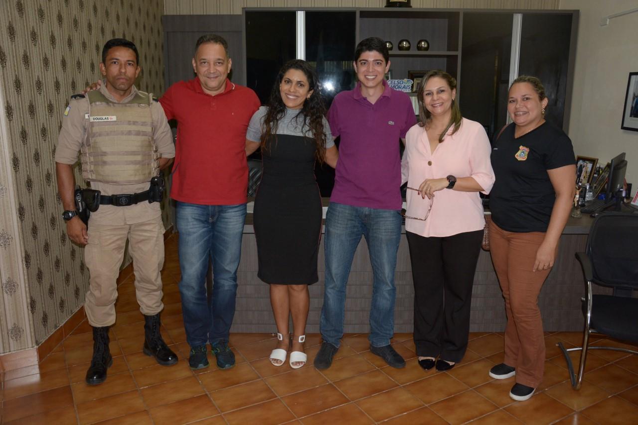 Celso Morais recebe membros do CONSEG e avaliam questões relacionadas à segurança