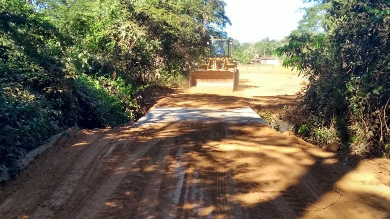 Seder finaliza a construção da ponte de concreto sobre o Ribeirão São Joãozinho e tráfego é liberado