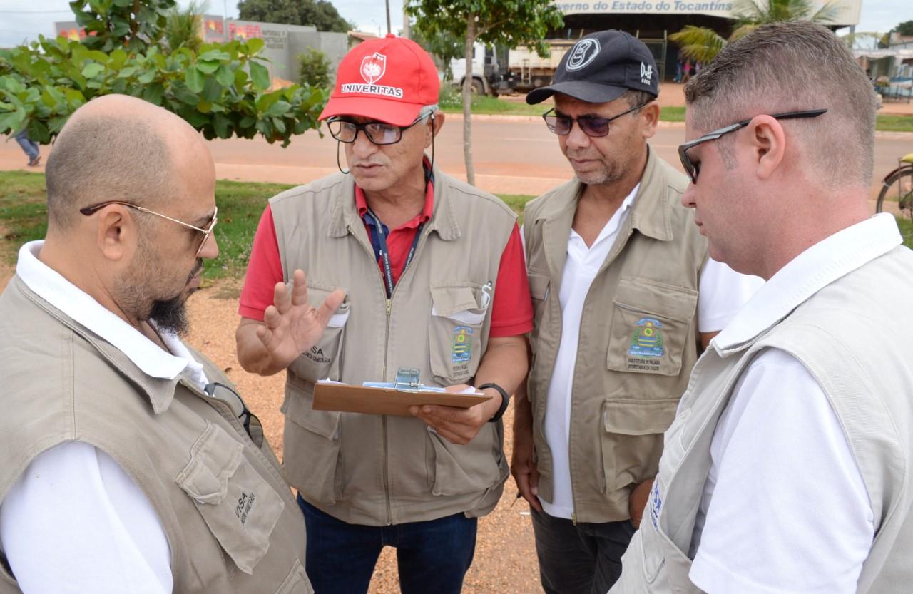 Vigilância Sanitária de Palmas realiza trabalho de segurança alimentar durante o Arraiá da Capital