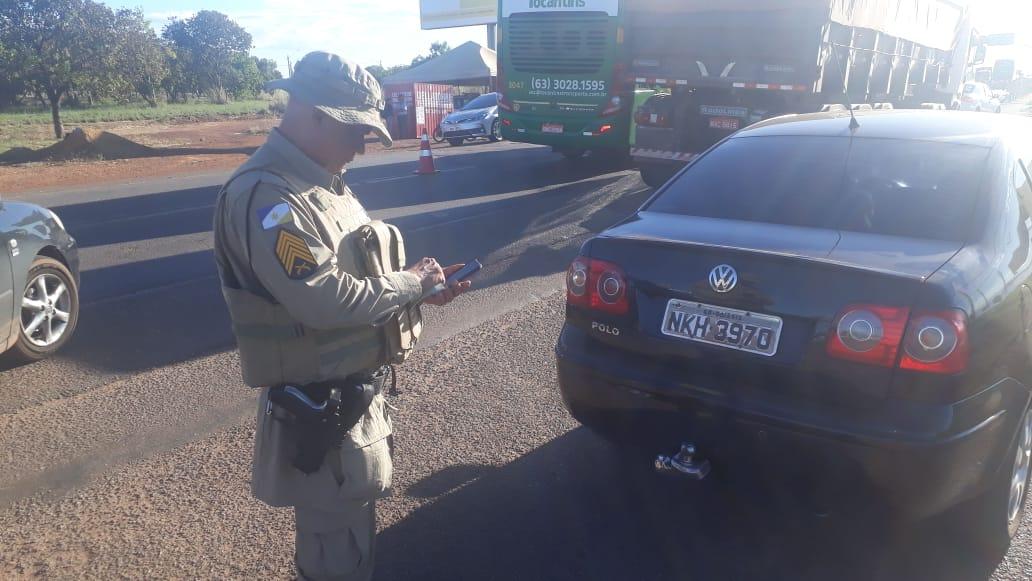 PM/TO divulga resultado de operação em rodovias do estado durante feriado de Corpus Christi