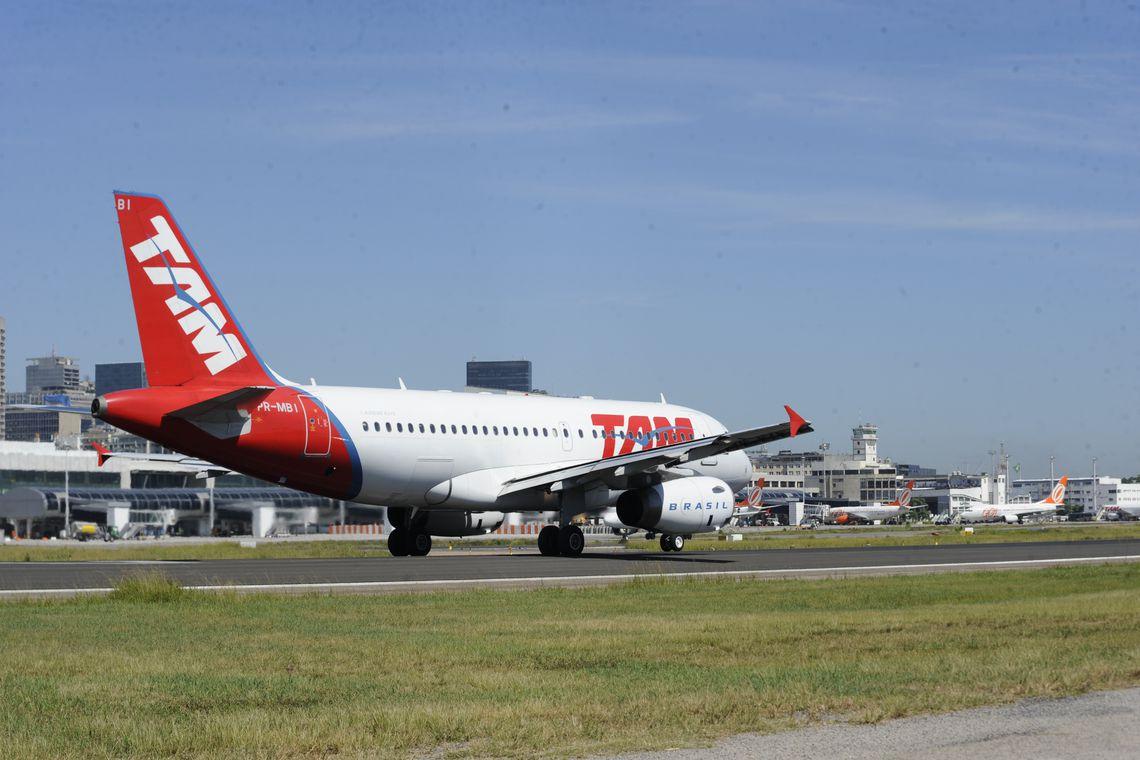 Infraero adia reforma da pista principal do Aeroporto Santos Dumont