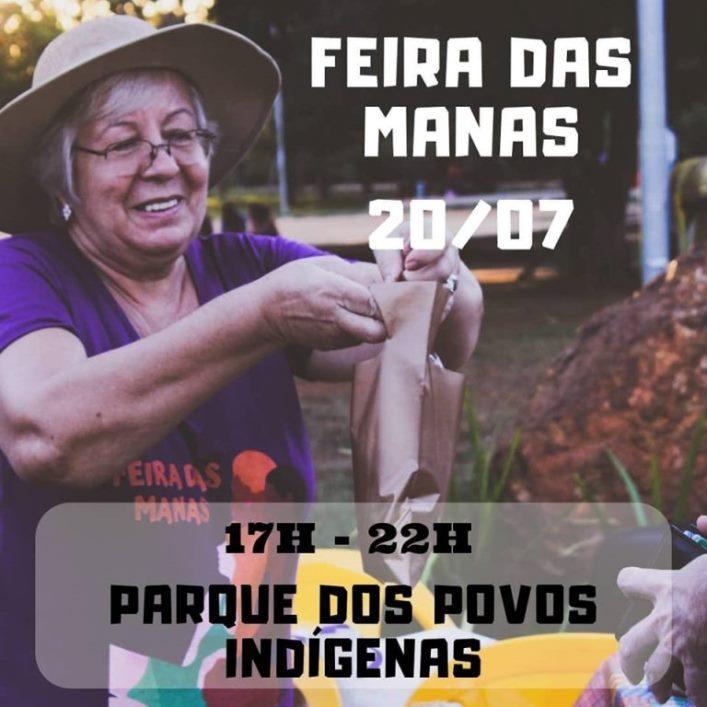 Feira das Manas levará música, artesanato e muita cultura para o Parque dos Povos Indígenas neste sábado, 20