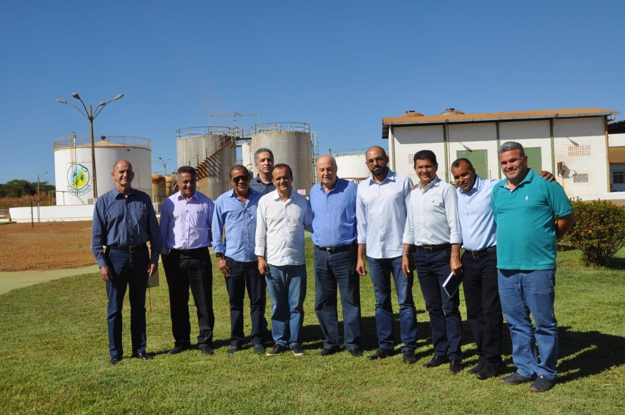 Joaquim Maia se reúne com secretário estadual da Indústria e Comércio e com empresários da Granol