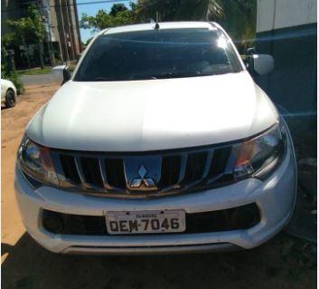 Caminhonete roubada no Estado do Pará é recuperada pela Polícia Civil em Araguaína
