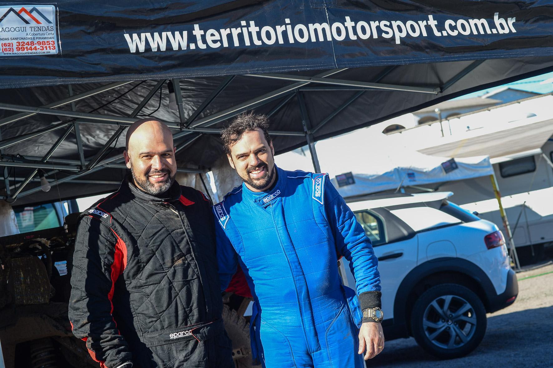Rally dos Sertões: Goianos Lélio Júnior/Weberth Moreira vão cruzar seis estados de UTV