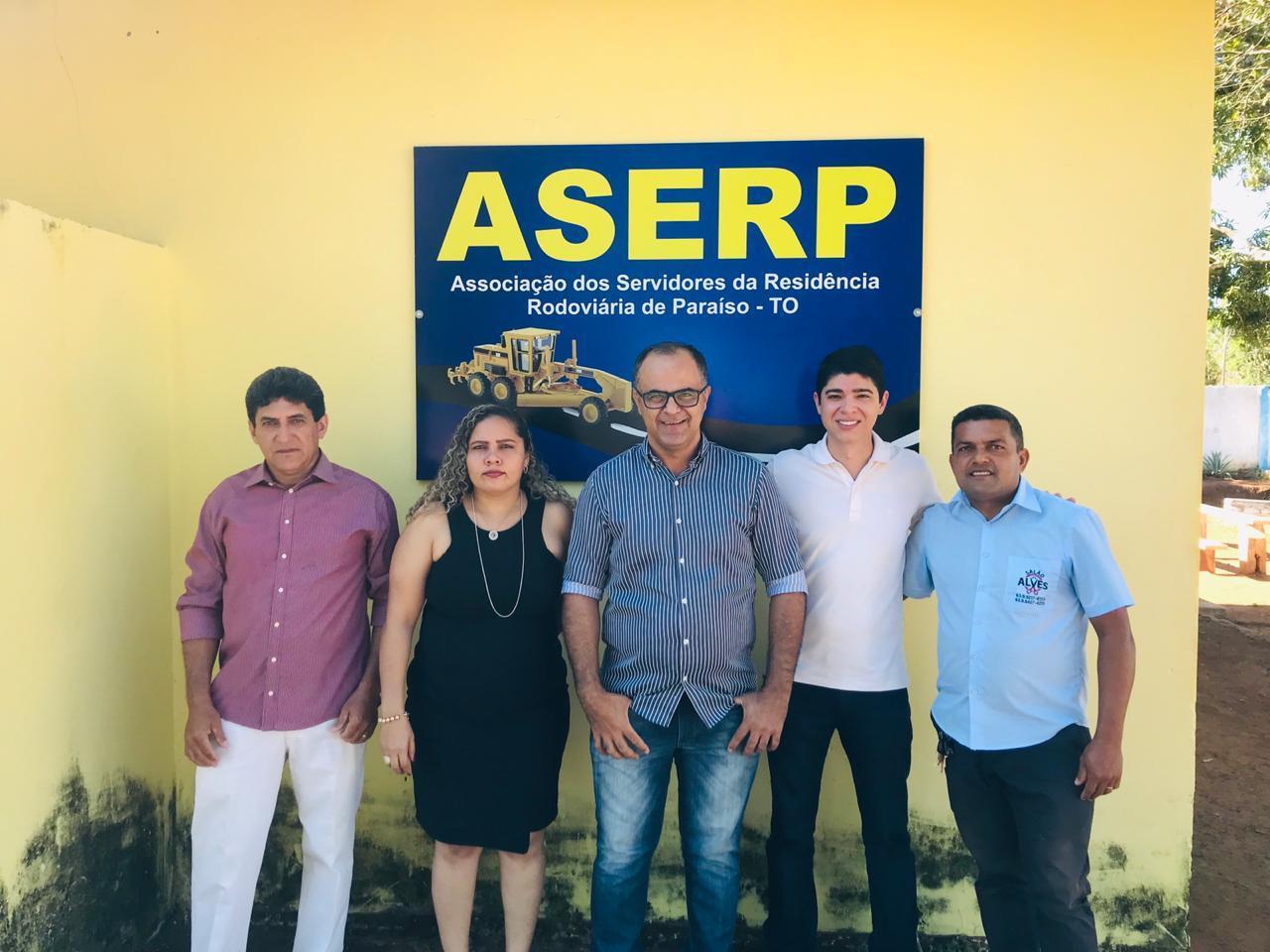 Vice-Prefeito Celso Morais prestigia evento social da ASERP