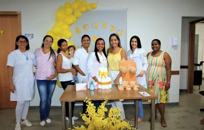 Agosto Dourado: Lajeado realiza atividades de incentivo ao aleitamento materno
