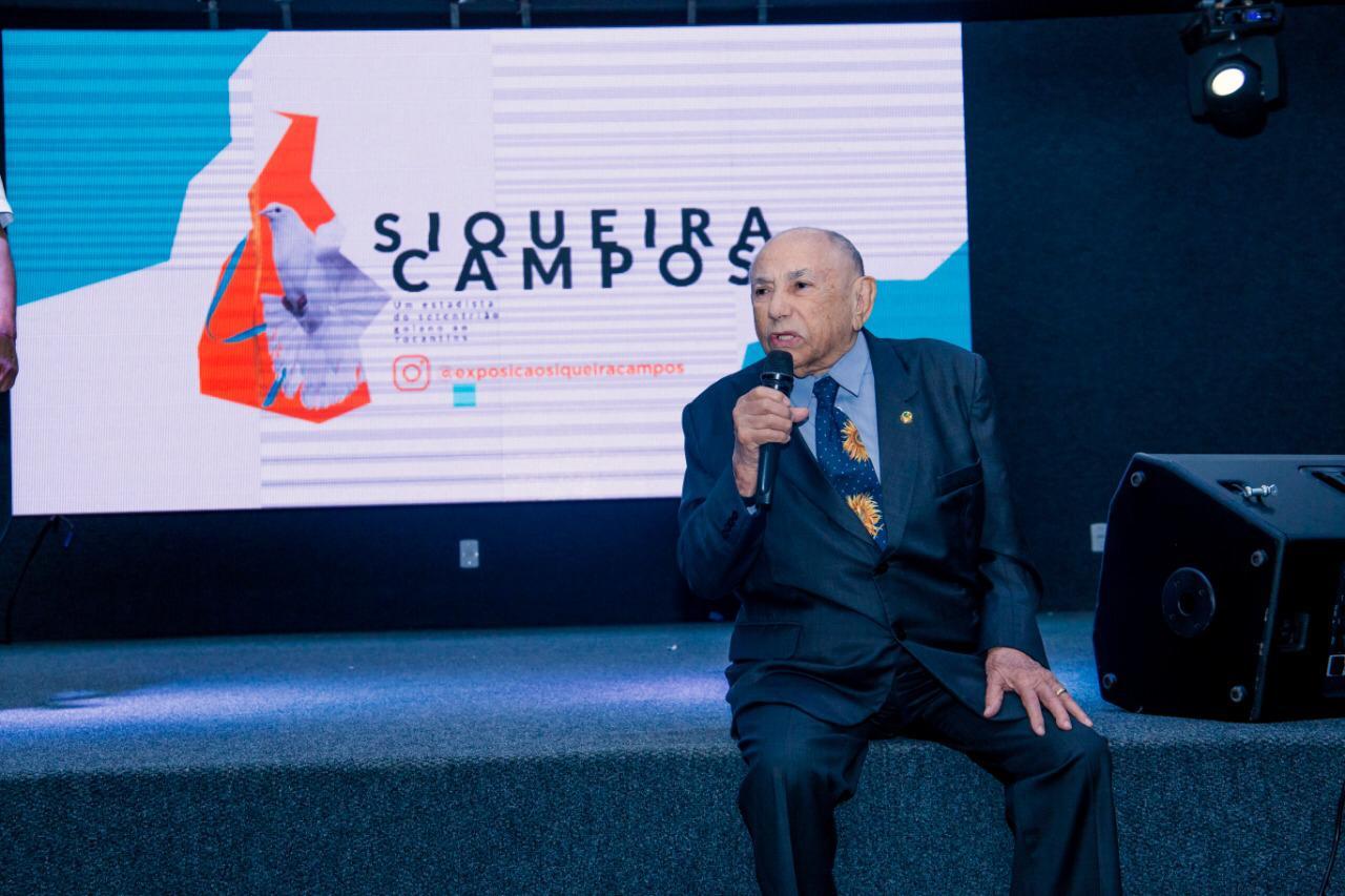 Cerimônia que reuniu populares, artistas e autoridades abre a Exposicão Siqueira Campos em Gurupi