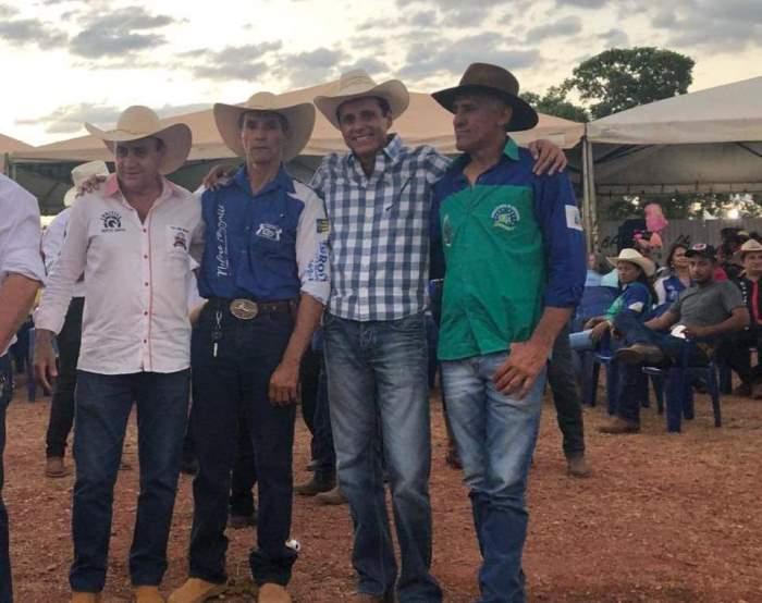 Deputado Nilton Franco participa de cavalgada da 19ª Expoagro de Dois Irmãos