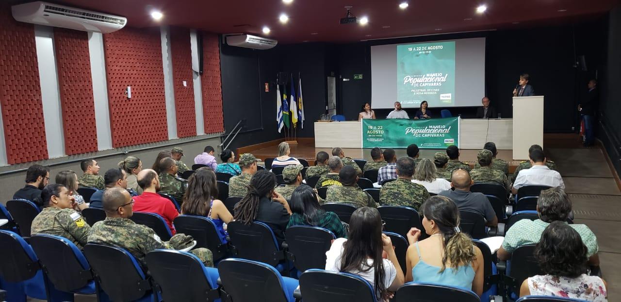 Fiscalização Ambiental da GMP participa do I Simpósio sobre Manejo Populacional de Capivaras