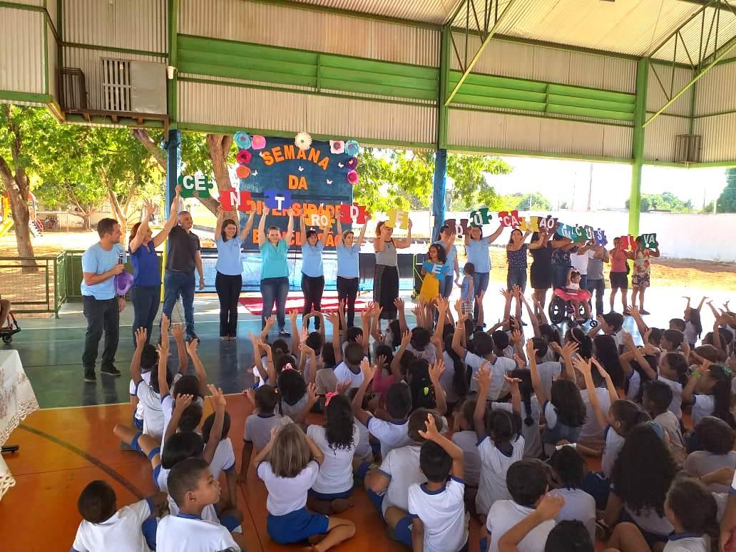Balé inclusivo do CEI marca início da Semana da Diversidade na rede municipal de ensino