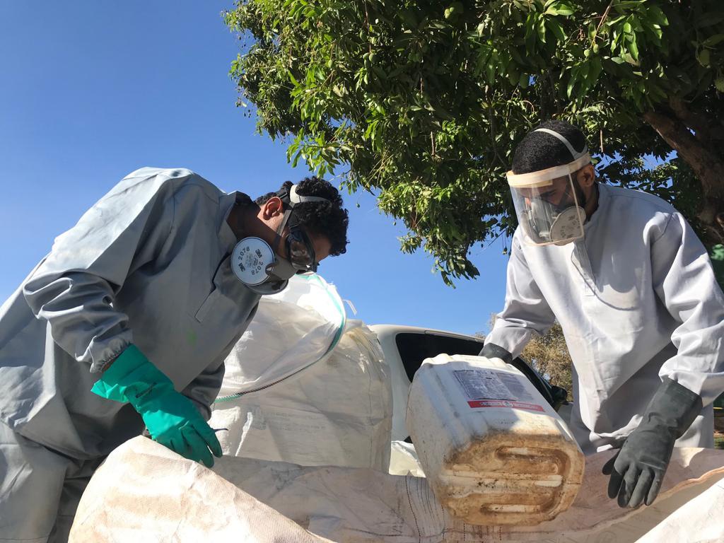 Produtores rurais de Araguaçu devolvem mais de 2.300 embalagens vazias de agrotóxicos