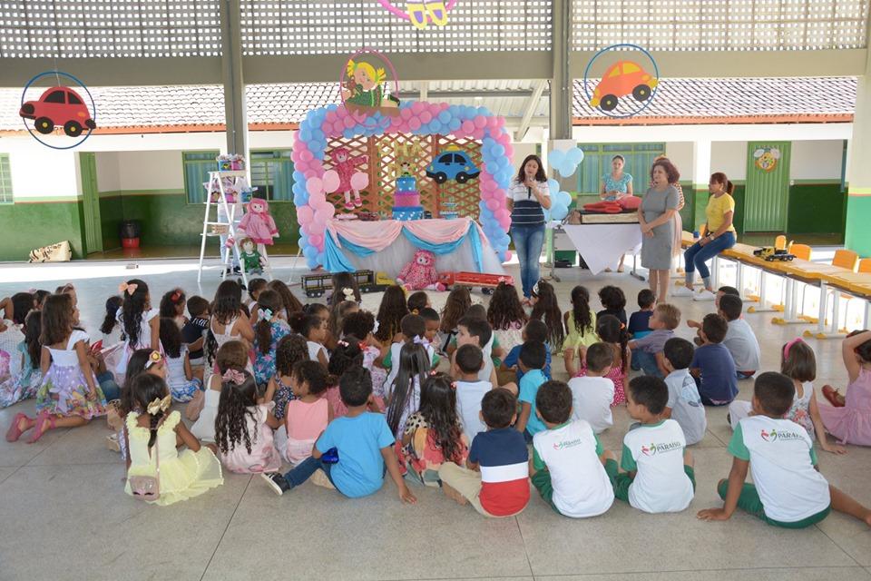 Projeto desenvolvido na Escola José Ribeiro Torres resgata brincadeiras de infância