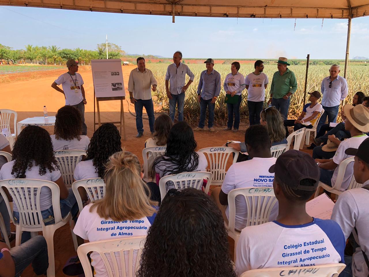 SENAR participa do 3° Tecnifruti realizado no Projeto Manuel Alves